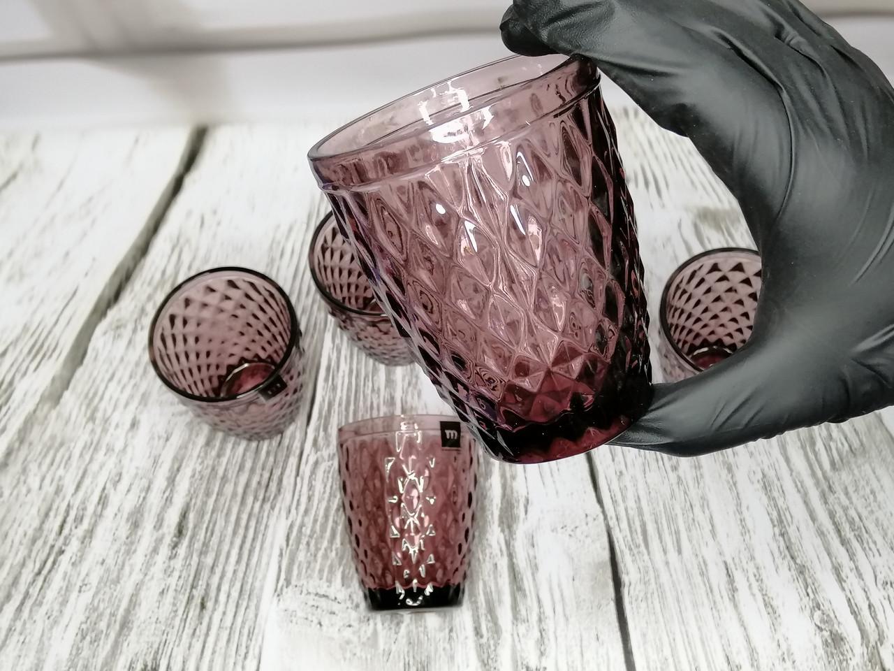 Набір склянок La Mediterranea Sidari 6 шт. 270 мл колір – фіолетовий