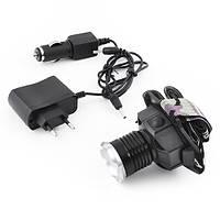 Профессиональный аккумуляторный налобный фонарь POLICE  CREE-Q5 6905-XPE, zoom