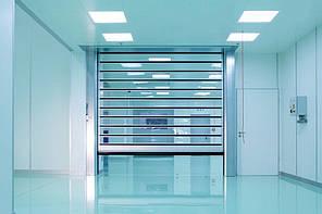 Турбо ворота для чистых помещений EFA-SRT® CR (2500 х 2500 мм)