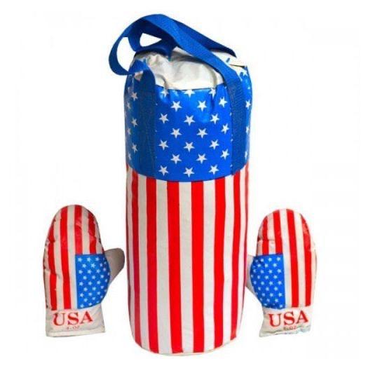 """Боксерський набір """"USA"""" (розмір - великий) арт. L-USA"""