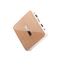 Mecool KM6 Deluxe 4/64Gb, Голосовое управление, Сертификация Google, Amlogic S905X4, Android 10 TV