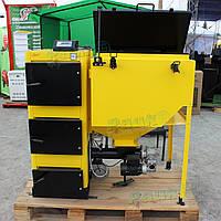 """Котел пеллетный промышленный 150 кВт, промышленный котел с бункером для пеллет """"Данко ТСм"""""""