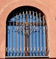 Кованые решетки в стиле модерн