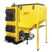 Котел пеллетный 25 кВт Данко-ТЕМ, котел для пеллет с бункером для топлива