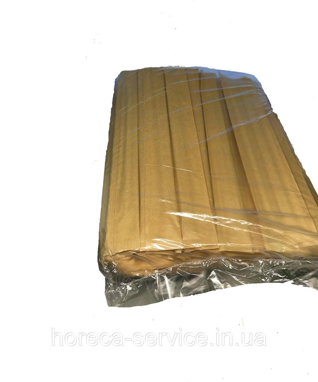 Палочки для суши темные в крафтовой индивидуальной упаковке 100 шт.