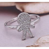 Серебряные кольца Мальчик и Девочка