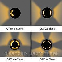 Світильник грунтовий DMD-02-9 LED 9W  3000К 220V Q4  IP65  розмір 120мм * 90мм, фото 7