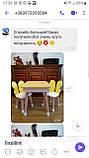 Дитячий стіл з пеналом і 2 стільці (дерев'яний стільчик зайчик 2 шт і прямокутний стіл), фото 6