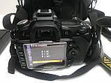 Дзеркальна камера Nikon d90 kit 18-55 хороший комплект, фото 5