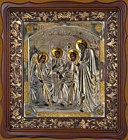 Купить серебряную икону. Икона Святая Троица