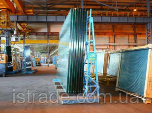 Стекло энергосберигающее с низкоэмиссионным покрытием Emicon cristal Gomel 4мм размер 3210*2250мм Гомельстекло