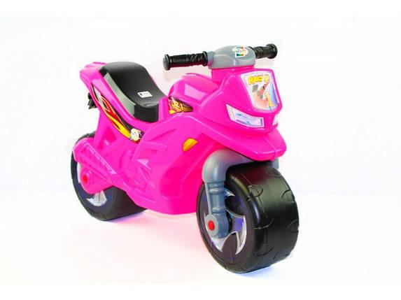 """Беговел """"Мотоцикл"""" Розовый ОРИОН, фото 2"""