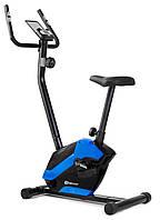Велотренажер для дома вертикальный магнитный до 120 кг Hop-Sport HS-045H EOS синий