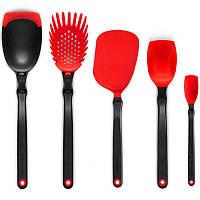 Набір кухонного приладдя 5 шт. червоний Австралія 115446