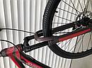 Двухколесный спортивный велосипед 29 дюйма Toprider (ORIGINAL SHIMANO) 901S бордовый, фото 5