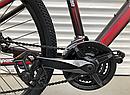 Двухколесный спортивный велосипед 29 дюйма Toprider (ORIGINAL SHIMANO) 901S бордовый, фото 7