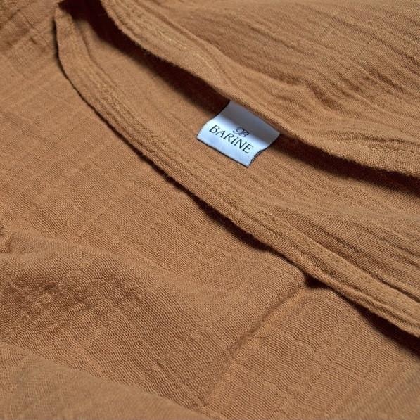 Покривало Barine - Muslin indian tan цегляний 200*225