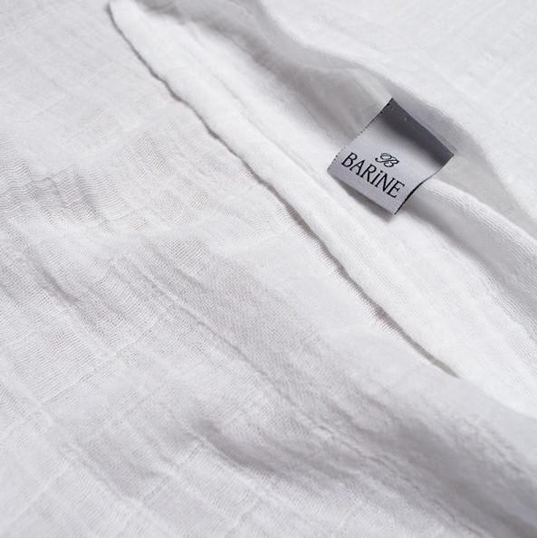 Покривало Barine - Muslin white 200*225 білий