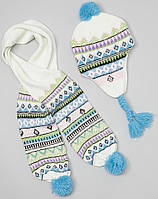 Набор шапка и шарф ТМ Crush (23 см)