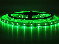 Герметичная led лента зеленая 3528\60 led