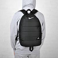 Городской спортивный мужской рюкзак Nike Air / Найк Черный