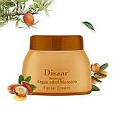 Увлажняющий антивозрастной крем Disaar для лица и тела с аргановым маслом, фото 2