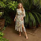 Романтичне плаття жіноче Софт Розмір 48 50 52 54 56 58 60 62 64 66 В наявності 5 кольорів, фото 3