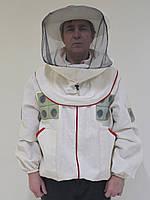 Куртка пчеловода с маской, с вентиляцией, размер, фото 1
