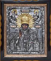Элитные подарочные иконы. Икона Святой Николай Чудотворец (1 вариант)