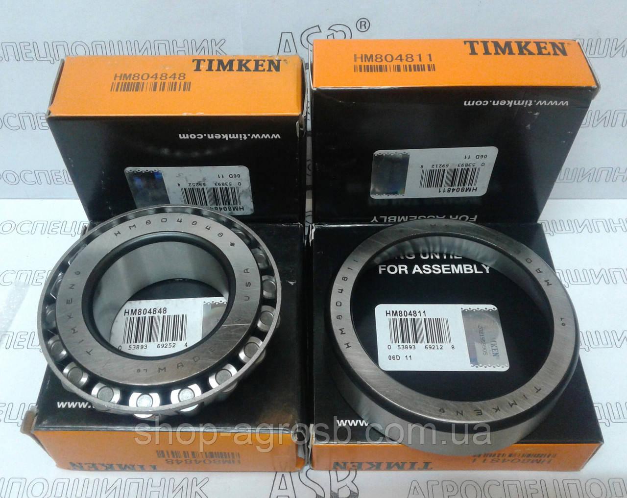 Подшипник TIMKEN HM804848/HM804811