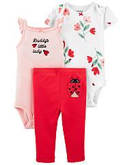 """Набор для новорожденных девочек Carter's (картерс) """"Папина маленькая леди"""""""