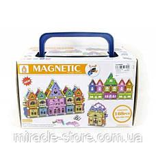 Магнитный конструктор в боксе Magnetic world 168 деталей, фото 2
