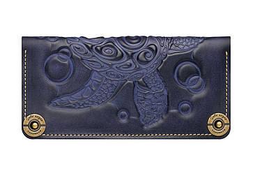 Жіночий шкіряний гаманець Turtle