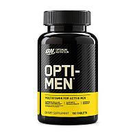 Комплекс витаминов и минералов Optimum Nutrition Opti-Men 150 tabs США опти-мен для мужчин