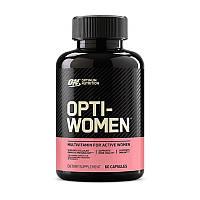 Комплекс витаминов и минералов для женщин Optimum Nutrition Opti-Women 60 caps США