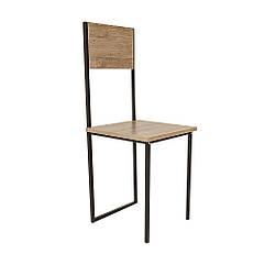 """Табурет Loft """"Шмидт"""" Дуб Античный, ДСП / металл, выс. 1 м. Мебель для кухни, кафе бара от производителя"""