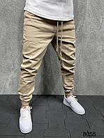 Чоловічі джинси-джогери 2Y Premium 8055 beige