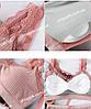 Бесшовный комплект женского нижнего белья топ и трусы, фото 3