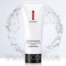Молочко для вмивання з нікотинамідом Venzen Cleancer