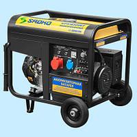 Генератор бензиновый трехфазный SADKO GPS-8500EF (7.0 кВА)