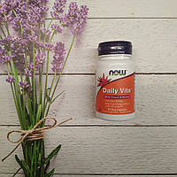 Now Foods Daily Vits 30 veg caps , витаминный комплекс нау
