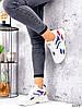Кросівки жіночі James білий + червоний +синій + чорний 3492, фото 10