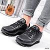 Кроссовки мужские Riob черные 3502, фото 3
