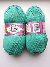 Пряжа для вязания Alize Cotton Gold Ализе Коттон Голд  цвет 610 изумруд
