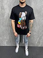 Чоловіча футболка оверсайз 2Y Premium TS-6058 black