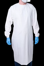 Захисний халат багаторазового використання Fullcover (УЗ-Спайка)