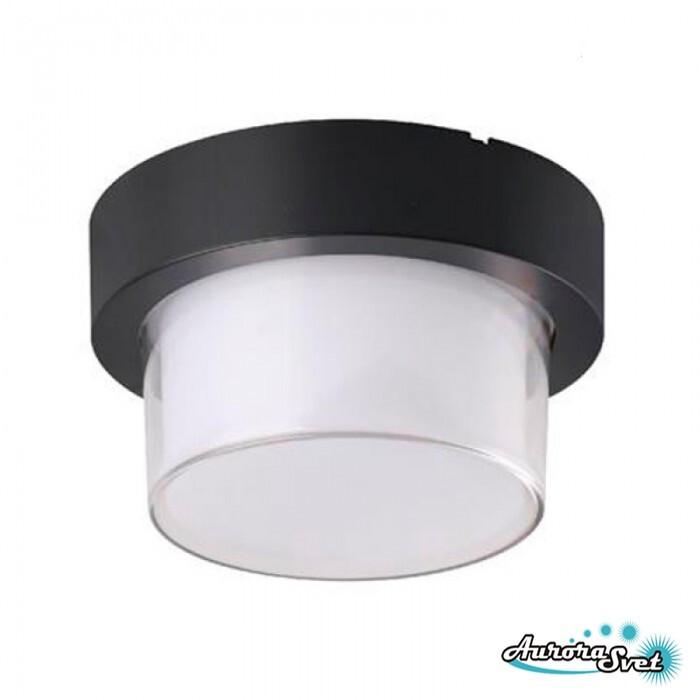 Архитектурный светильник SAURA-12 черный  12W LED освещение.4200K