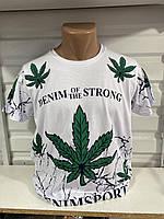 Мужская трикотажная футболка Denim of the strong размер норма 46-52, цвет уточняйте при заказе, фото 1