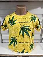 Чоловіча трикотажна футболка Premium quality розмір норма 46-52, колір уточнюйте при замовленні, фото 1