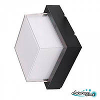 Архитектурный светильник SAURA-9 черный  12W LED освещение.4200K